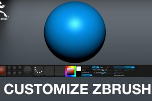 Customizing Zbrush UI and my interface
